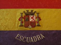 Republican Naval Insignia from the Spanish Civil War in El Museo Naval, Madrid...