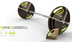 Nice concept Bar - Barbell and Dumbbell by Jun Hyun Kim