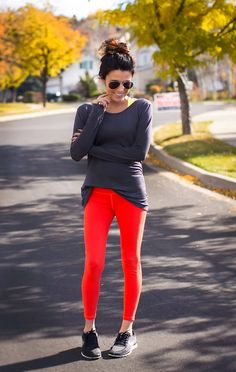Great fall workout outfit from @Christine Andrew