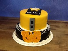 Cheif Warrant Officer Cake