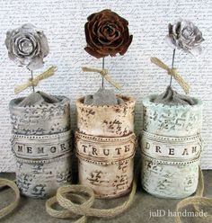 julD handmade: Memory - Truth - Dream Clay Projects, Burlap, Reusable Tote Bags, Memories, Handmade, Resin, Mixed Media, Art, Magick