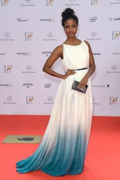 "Beautiful #Model #SaraNuru styled by #ViolettaVio! #BambiGala #2013 Dress by @Dawid Tomaszewski   ""Bambi 2013: Die schönsten Looks vom Roten Teppich"" @LesMads (Official)"