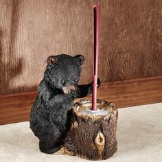Stinkin Bear Toilet Brush Holder
