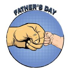 Illustration of Happy fathers day poster in retro comic style. Father and son fist bump. vector art, clipart and stock vectors. Happy Fathers Day Son, Fathers Day Poster, Father And Son, Father Sday, Diy Father's Day Gifts, Father's Day Diy, Indian Drawing, Comic Bubble, Mother Art