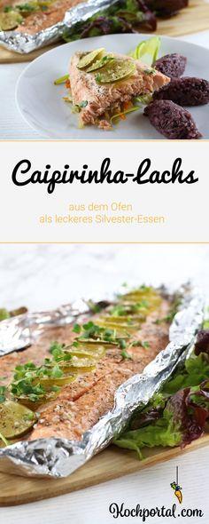 Silvester-Essen - Caipirinha Lachs aus dem Ofen dazu Wurzelgemüse und Wildreis - #silvester #silvesteressen #lachs #caipirinhalachs #ofenlachs #caipirinha #silvesterlachs