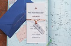 http://artcadia.co.uk/mariner Artcadia.co.uk Nautical Letterpress and Hot Foil Wedding Invitations Invites