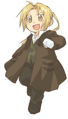 Chibi Edward - Fullmetal Alchemist I'm a huge fan of Ed, and this was too cute.