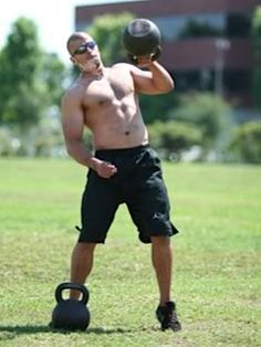 Mike Mahler, kettlebell high pull