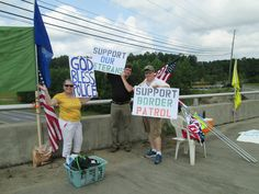 Rally in support of police, Border Patrol, and veterans Raleigh, NC Sat Aug 30 part of Operation American Shield pic 2