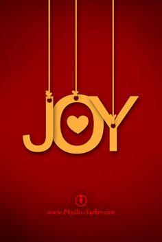 joy - Joyful, Joyful we Adore Thee, God of glory, Lord of love;But what if you don't feel so joyful this Christmas season? What do you do?