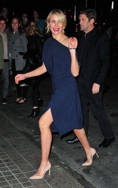 CAMERON DIAZ. La mejor manera de alargar y definir tus piernas, ¡mira cómo lo hacen las famosas!