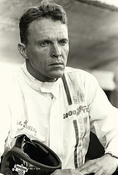 Dan Gurney – He has been a driver, a car manufacturer, and a team owner at racing's highest levels since 1958. He is the first of three drivers to have won races in Sports Cars (1958), Formula One (1962), NASCAR (1963), and Indy Car (1967) (the other two being Mario Andretti and Juan Pablo Montoya). In 1967, after winning the 24 hours of Le Mans together with A.J. Foyt, he spontaneously sprayed champagne while celebrating on the podium. #RacingLegend