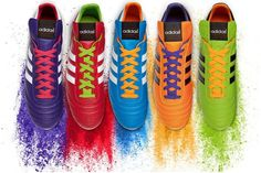 Built for Brazil, the most popular football boots of all-time, the adidas Copa Mundial are now available in these limited edition Samba inspired colourways. Soccer Gear, Soccer Boots, Soccer Cleats, Soccer Players, Adidas Cleats, Soccer Drills, Soccer Stuff, Adidas Shoes, Adidas Football