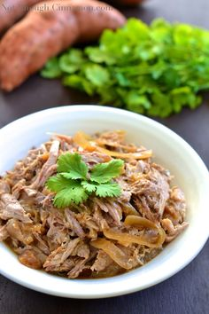 Slow-Cooker Apple and Onion Pulled Pork