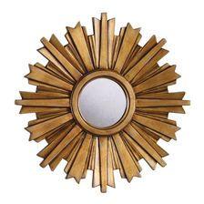 Mini Gold Starburst Mirror