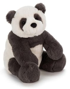 Infant Jellycat Huge Harry Panda Stuffed Animal A fuzzy, stuffed panda bear makes a perfect companion for your little one. Style Name:Jellycat Huge Harry Panda Stuffed Animal. Panda Stuffed Animal, Jelly Cat Stuffed Animals, Large Stuffed Animals, Stuffed Bear, Stuffed Toys, Baby Panda Bears, Teddy Bears, Jellycat, Paperchase
