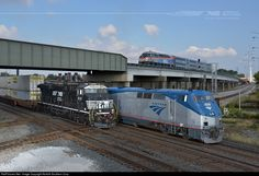RailPictures.Net Photo: NS 8110 Norfolk Southern GE ES44AC at Chicago, Illinois by Norfolk Southern Corp