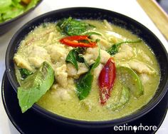 Thai food ~ Kang keaw wan