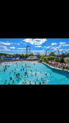 HersheyPark on a beautiful June day. The Boardwalk area with coasters/park behind