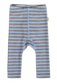 Leggings - Blå Strib/6643