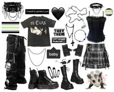 S Grunge Outfits, Pride Outfit, Outfit Maker, Winter Springs, Summer Winter, Black Platform, Doc Martens, Night Out, Dress Up