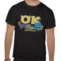 OK - OOZMA KAPPA  2 T SHIRTS $25.95 Bronx Nyc, Cool Monsters, Travel Party, Sculptural Fashion, Travel Shirts, Kappa, Tshirt Colors, Fitness Models, Unisex