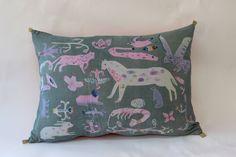 Animal Medley pillow - Rose de Borman
