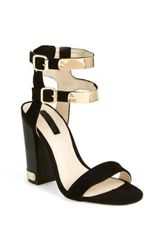 Topshop 'Rodeo' Double Strap Sandal available at #Nordstrom