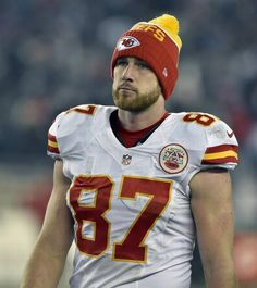 e55aa63e4 Kansas City Chiefs tight end Travis Kelce (87) walks off the field after the