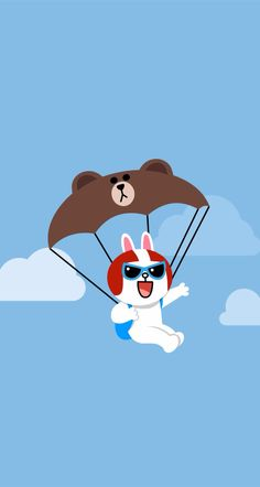 Cony can fly