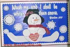 pictures of church bulletin boards in winter | bulletin board ideas | Church Bulletin Boards