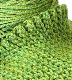 ee710e3afe3 Eva s Ribs Scarf  Slip Stitch Crochet 101 Háčkovaná Šála