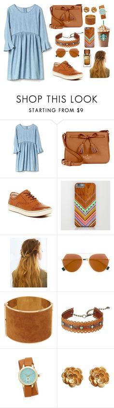 """Untitled #229"" by ghena-alaina ❤ liked on Polyvore featuring Kate Spade, Børn, WithChic, Fendi, Dsquared2, Leatherock, Tory Burch, Kutchinsky and Dolce&Gabbana"
