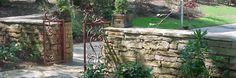 Stone wall...