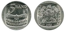 How Much is the 1994 R5 Coin Worth? (And where can I sell it) [Answered] Sell Old Coins, Old Coins Worth Money, Old Money, Rare Coin Values, Electronics Projects For Beginners, Postage Stamp Collection, Where To Sell, Presidential Inauguration, Valuable Coins
