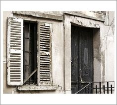 Old Door Framed Print by Nichole Robertson #potterybarn