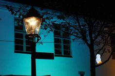 13. Rostocker Lichtwoche | Illuminierter Klosterhof während der Rostocker Lichtwoche (c) Frank Koebsch (2)