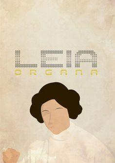 Star Wars - Leia Organa by Lucas Abl