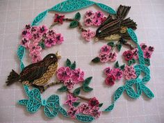 Just finished this piece of quilling 01/13.