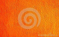 Abstract orange background made from house wall.