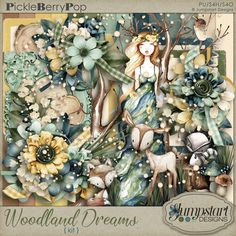 Woodland Dreams KIT от Jumpstart Designs