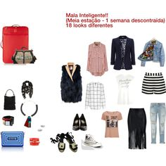 18 looks diferentes para uma mala de 1 semana descontraída!!