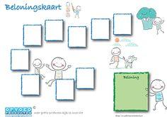 Gratis Beloningskaart 1.0 voor kinderen. Leer kinderen gemakkelijk iets af of aan, door uw kind te belonen | Klik op de afbeelding om naar de download te gaan. http://www.opvoedproducten.nl/product/beloningskaart-10/241