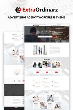 WordPress Theme , ExtraOrdinarz - Advertising Agency