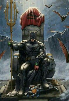 Another awesome pic from DC Comics Sir Batman. - Batman Canvas Art - Trending Batman Canvas Art - Another awesome pic from DC Comics Sir Batman. Marvel Dc Comics, Dc Comics Art, Posters Batman, Batman Artwork, Batman Vs Superman Comic, Batman Painting, Batman Games, Joker Batman, Batman Stuff
