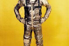 Gordon Cooper in Project Mercury Suit - 1959. -- the suits!