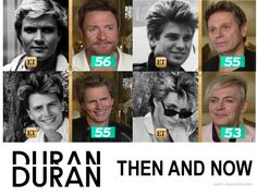 duranduranofficial - Then & Now (Entertainment Tonight screencaps). Still looking Durantastic! Music Love, Music Is Life, My Music, 80 Bands, Cool Bands, Jt Taylor, Roger Taylor Duran Duran, Day Of My Life, 4 Life
