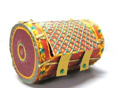 "Traditional Indian Wedding Invitation Cards ""Dhol"" - 100% Handmade. $25.00, via Etsy."