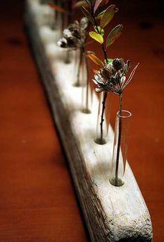 wood flower vase ideas - Google Search