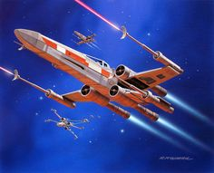 X-Wing by Ralph McQuarrie